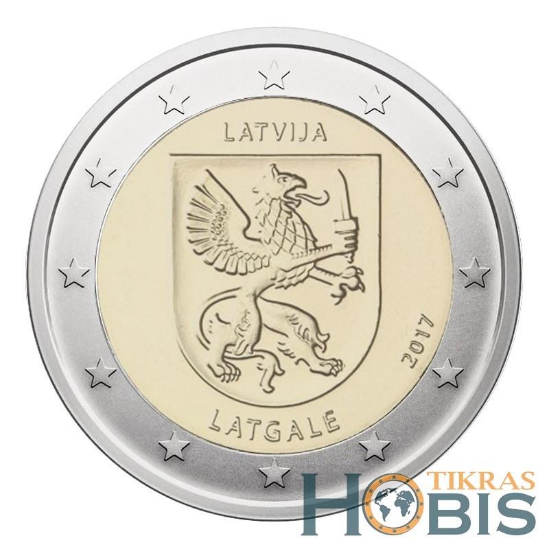 Latvija 2 eurai, 2017 Latgale