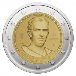 Italija 2 eurai, 2017 2000th Titus Livius