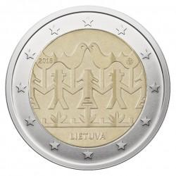 Lietuva 2 eurai, 2018 Dainų šventė