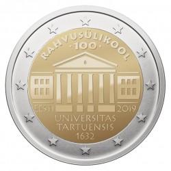 Estonia 2 euro, 2019 100th...