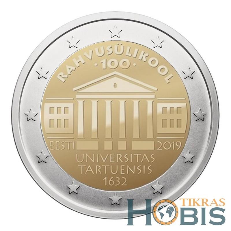 Estija 2 eurai, 2019 100th University Tartu