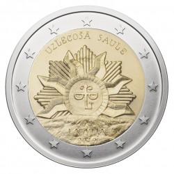 Latvija 2 eurai, 2019 Kylanti Saulė