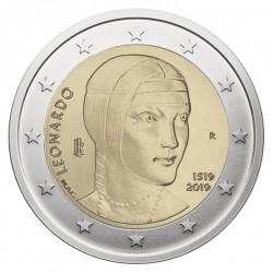 Italy 2 euro, 2019 500th...