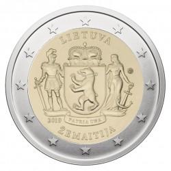 Lietuva 2 eurai, 2019 Žemaitija