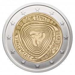 Lietuva 2 eurai, 2019 Sutartinės