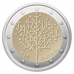 Estija 2 eurai, 2020 100th Treaty of Tartu