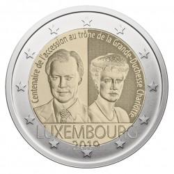 Liuksemburgas 2 eurai, 2019 Grand Duchess Charlotte