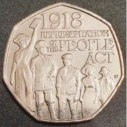 Anglija 50 pensų, 2018 People Act