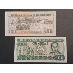 Mozambique 100 Metticais,...