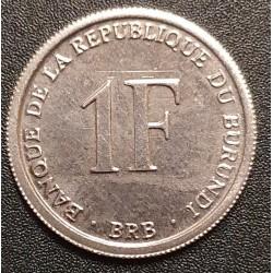 Burundi 1 franc, 2003