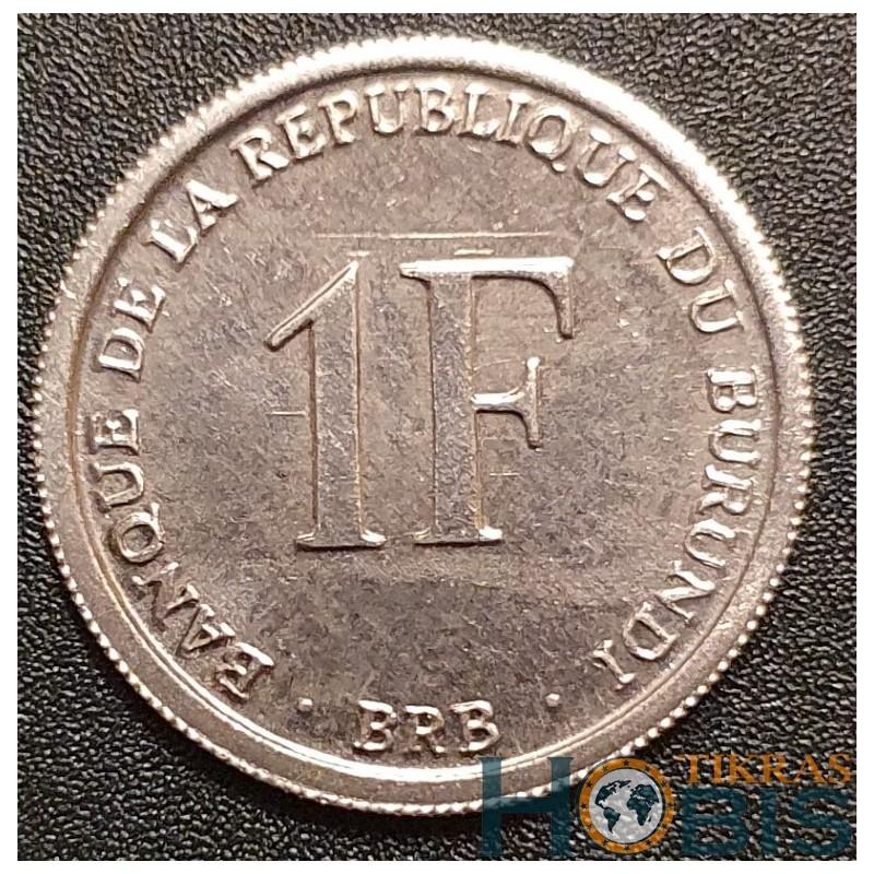 Burundis 1 frankas, 2003