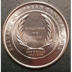 East Caribbean 1 Dollar,...
