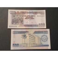 Burundis 500 frankų, 2013 P-45c
