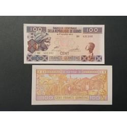 Gvinėja 100 frankų, 2012 P-35b