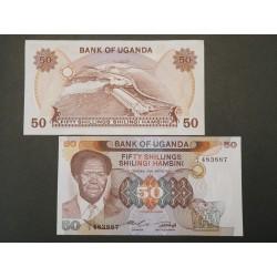 Uganda 50 Shillings, 1985 P-20