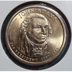 JAV 1 doleris, 2007 John Adams (1797-1801) Nr. 2