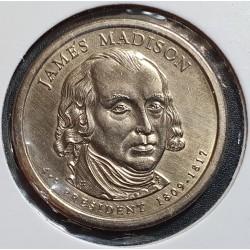 JAV 1 doleris, 2007 James Madison Nr. 4