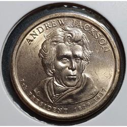 JAV 1 doleris, 2008 Andrew Jackson Nr. 7
