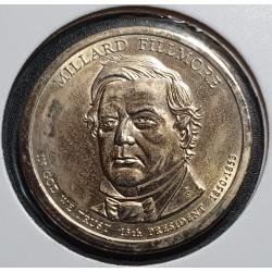 JAV 1 doleris, 20010 Millard Fillmore Nr. 13
