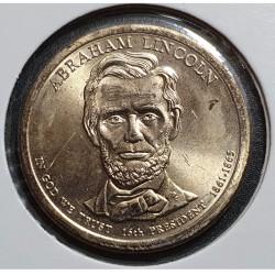 JAV 1 doleris, 2010 Abraham Lincoln Nr. 16