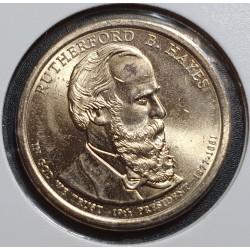 JAV 1 doleris, 2011 Rutherford B. Hayes Nr. 19