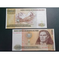 Peru 500 Intis 1987 P-134b