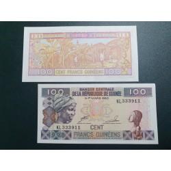 Gvinėja 100 frankų, 1998 P-35a.2