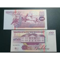 Surinamas 100 guldenų, 1998 P-139b