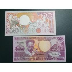 Surinamas 100 guldenų, 1986 P-133a