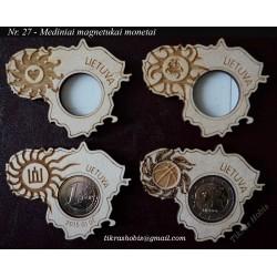 Medinis magnetukas monetai Nr. 27