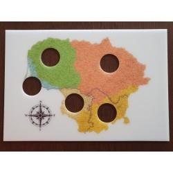 Rėmelis Lietuvos etnografiniai regionai Nr. 68