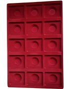 Pallets for collecting, holders and capsules for coins