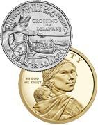 Šiaurės ir Pietų Amerikos įvairios monetos. Monetų parduotuvė
