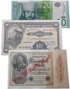Europos šalių banknotai. Banknotų elektroninė parduotuvė