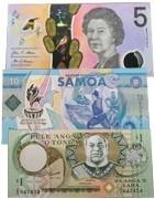 Australijos ir Okeanijos salų banknotai. Banknotų elektroninė parduotuvė
