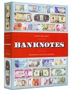 Albums for coins, banknotes, stamps