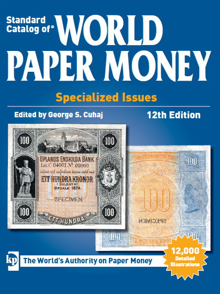 World Paper Money, Specialized Issues, 1368-1960