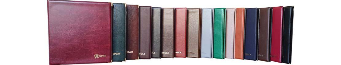 Albumai monetoms, didelis spalvų pasirinkimas